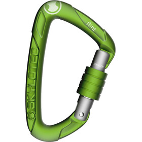 Skylotec Flint Screw Carabiner With screw cap green